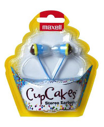 Maxell Cupcake slušalice, plave