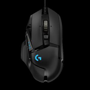 Logitech G502 HERO gaming miš, crni