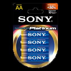 Sony Stamina Plat. alk. bat, AA 4kom,bl.