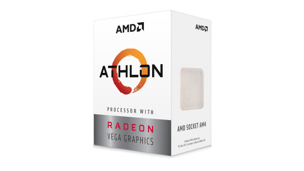 AMD Athlon 200GE, 3.2GHz, 2C/4T, Vega, AM4,35W,box