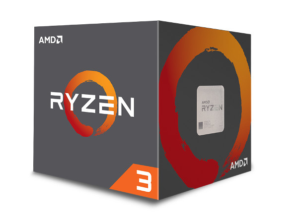 AMD Ryzen 3 1200, 3,1GHz, 10MB, AM4