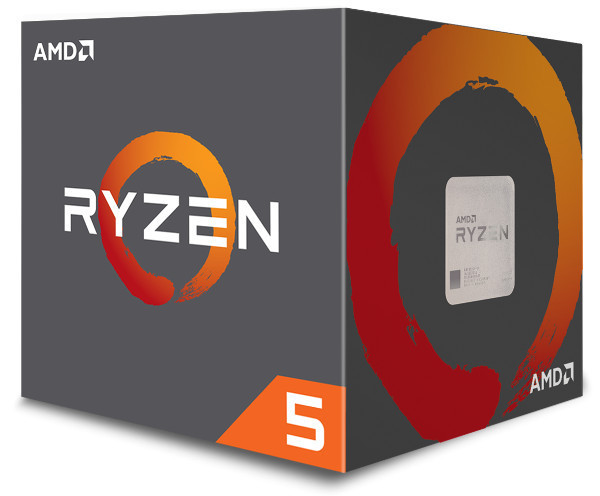 AMD Ryzen 5 1600, 3,4GHz, 19MB, AM4