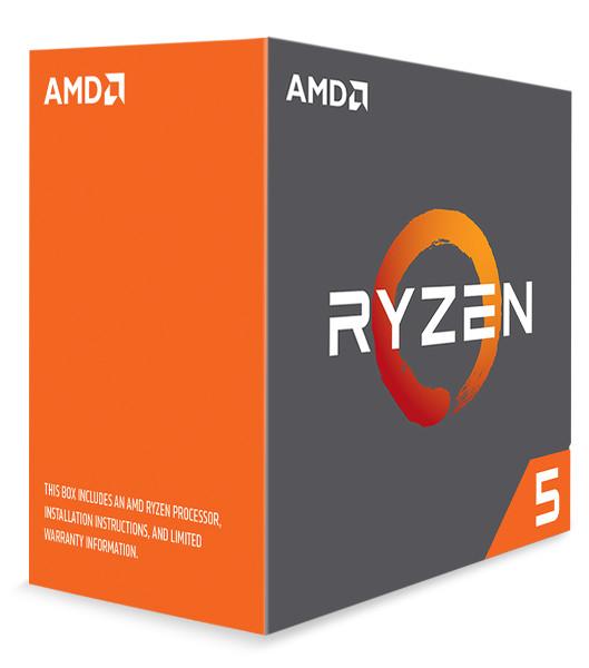 AMD Ryzen 5 1600X, 3,6GHz, 19MB, AM4, bez hladnja