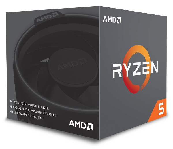 AMD Ryzen 5 2600X, 6C/12T 3,6GHz/4,2GHz, 16MB, AM4