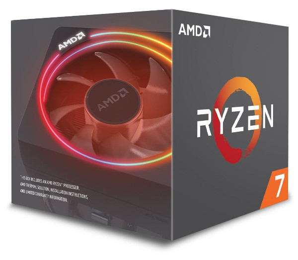 AMD Ryzen 7 2700X, 8C/16T 3,7GHz/4,3GHz, 16MB, AM4