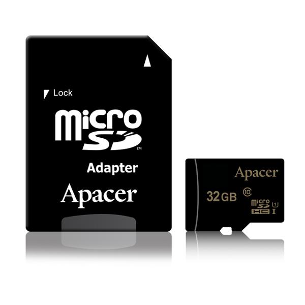 Apacer micro SDHC UHS-I U1 CL10 R85, 32GB