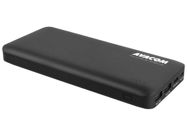 Avacom PowerBank PRISMA PD-20,20k mAh,USB-C,crni