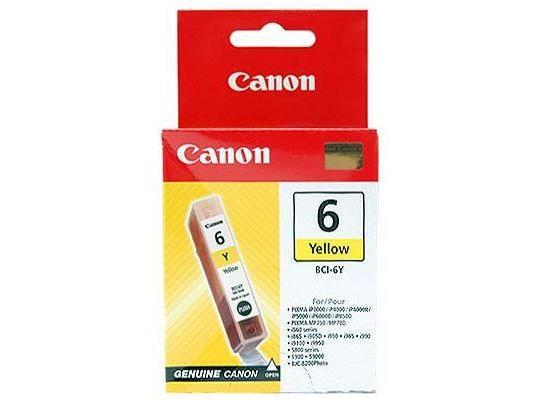 Canon tinta BCI-6Y, žuta