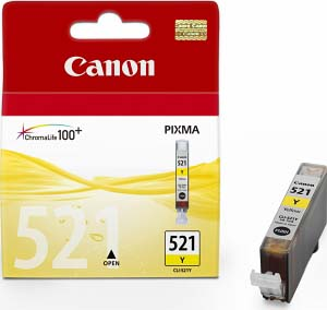 Canon tinta CLI-521Y, žuta