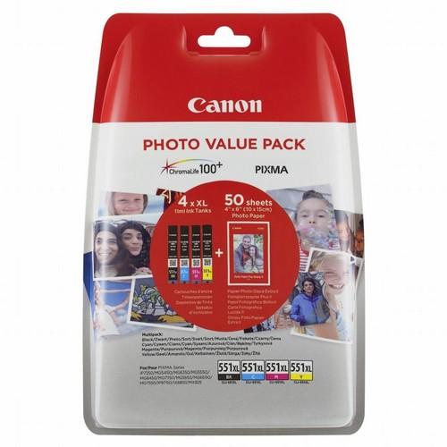 Canon tinta CLI-551 CMYB - Photo Value Pack