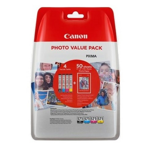 Canon tinta CLI-571 CMYB - Photo Value Pack