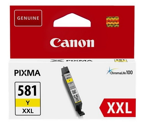 Canon tinta CLI-581Y XXL, žuta