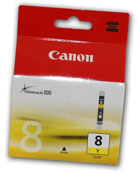 Canon tinta CLI-8Y, žuta