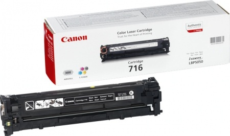 Canon toner CRG-716B, crni
