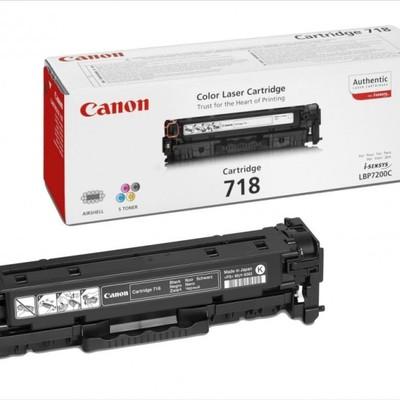Canon toner CRG-718Bk, crni