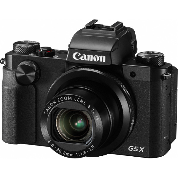 """Canon PS G5X, 20MP, 4.2x (24-100mm), 3"""" LCD"""