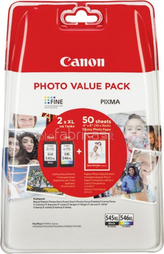 Canon tinta PG-540XL + CL-541XL - Photo Value Pack