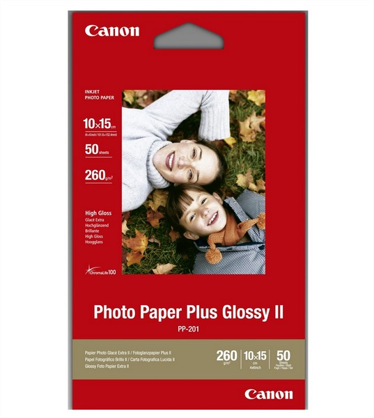 Canon Photo Paper Plus PP201 10x15 - 50L