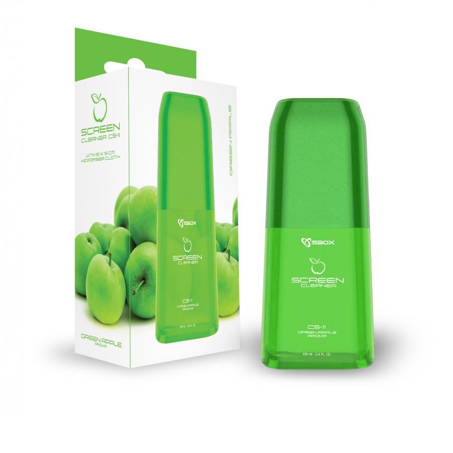 SBOX sredstvo za čišćenje CS-11 zelena jabuka