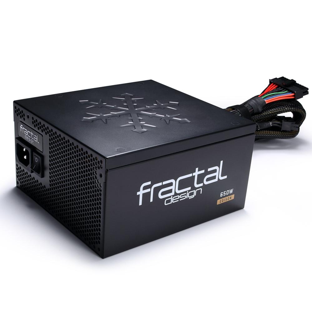 Fractal Edison M 650W, 80+ GOLD polu modularno