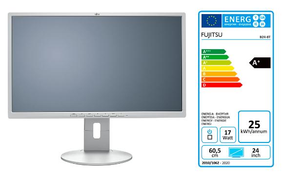 Fujitsu B24-8 TE Pro DP, DVI, VGA, piv, zvu, USB