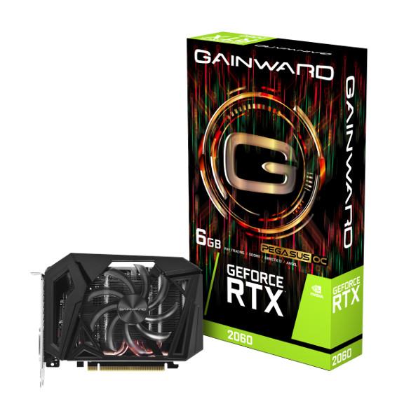 Gainward GF RTX2060 Pegasus OC, 6GB, ITX