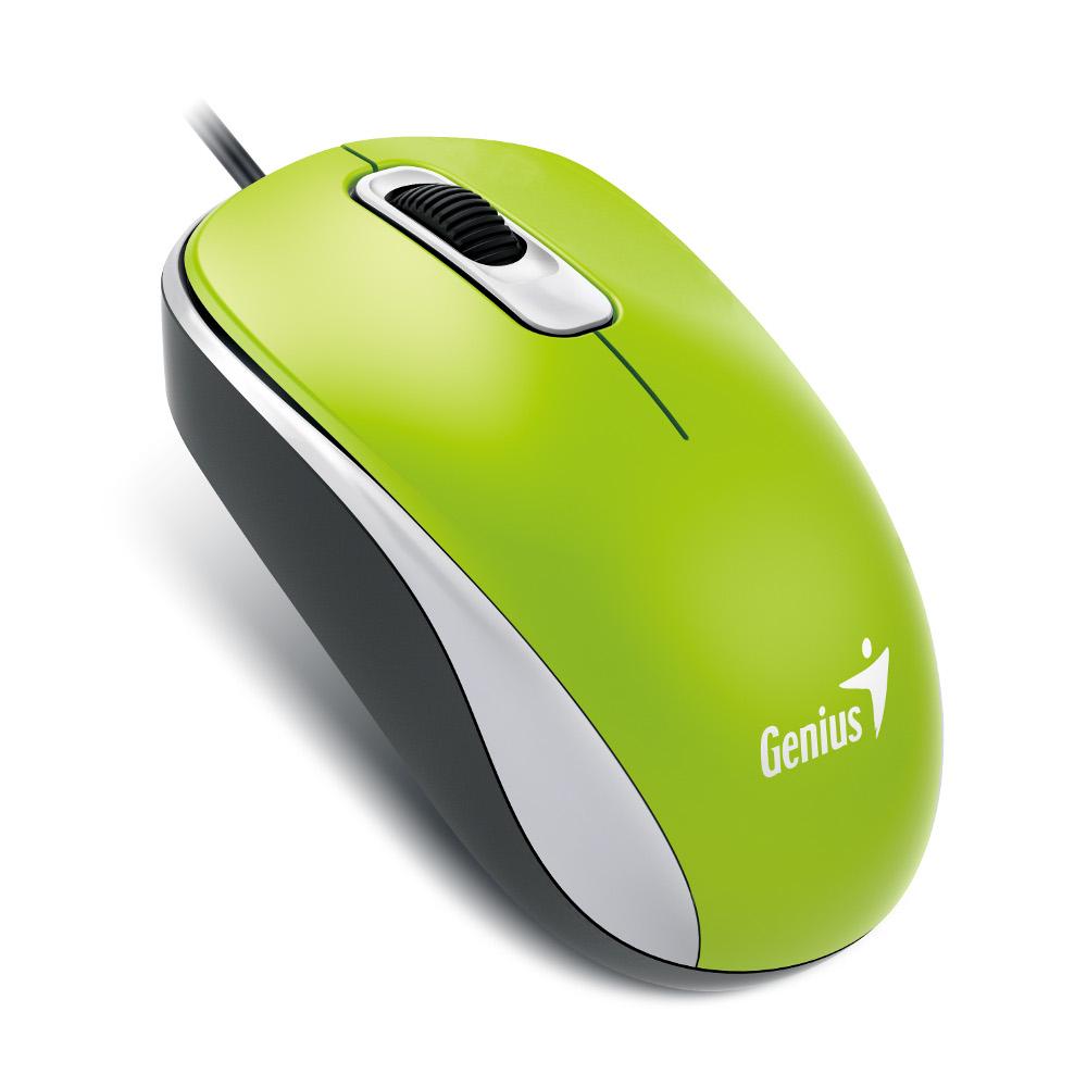 Genius DX-110 LED, BlueEye, USB, zeleni