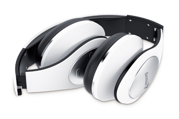 Genius HS-935W, bluetooth headset, NFC, bijele