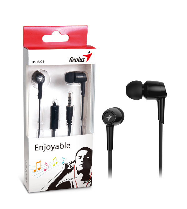 Genius HS-M225,in-ear slušalice,crne