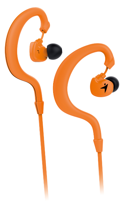 Genius HS-M270, in-ear sport headset, orange