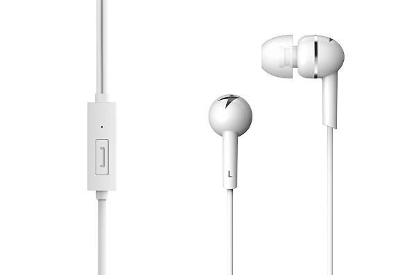 Genius HS-M300, in-ear slušalice, bijele