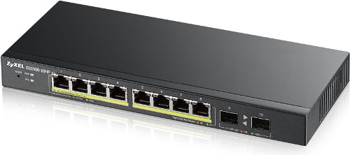ZyXEL GS1900-10HP, 10-port Gbit Web Smart Switch