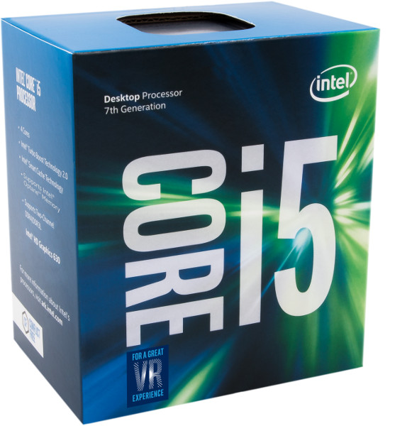 Intel Core i5 7600 3,5GHz, 6MB, LGA 1151