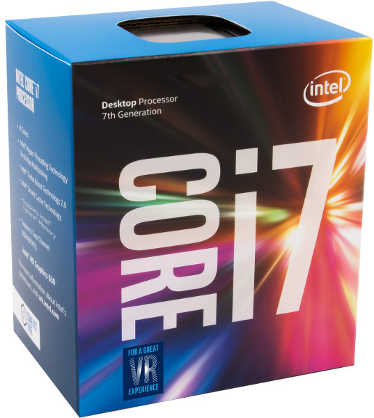 Intel Core i7 7700 3,6GHz,8MB,LGA 1151