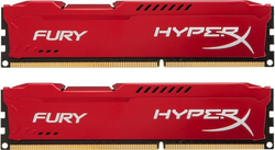 Kingston DDR3 HyperX Fury,1866MHz, 8GB(2x4GB) Red