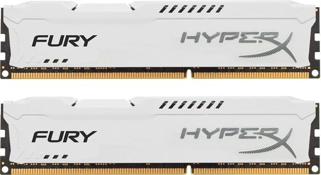 Kingston DDR3 HyperX Fury,1866MHz,16GB(2x8GB)White