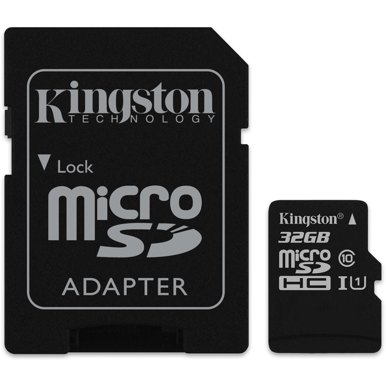 Kingston microSDXC, Canvas, Class10, 32GB