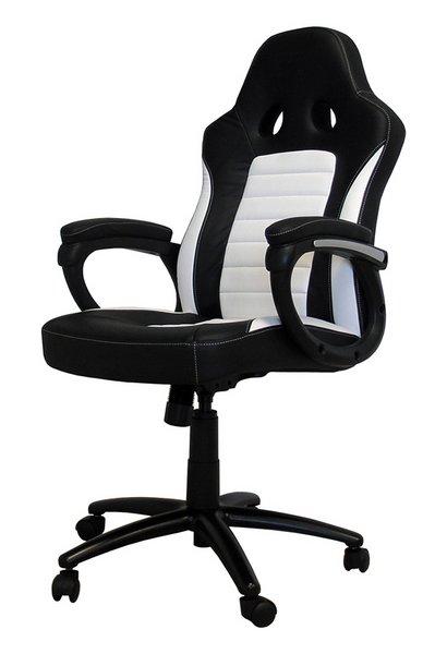 LC-Power LC-RC-BW gaming stolica, crno/bijela