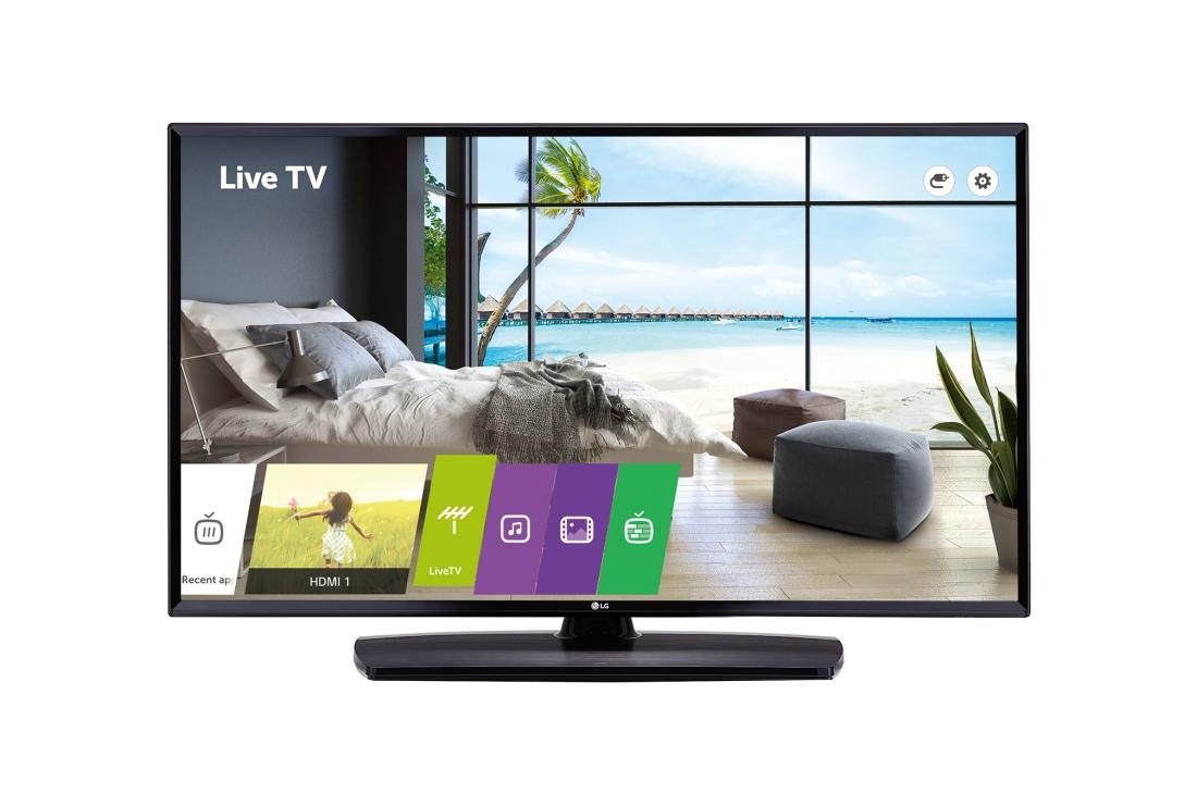LG 49LU661H, 124cm, T2/S2, 4K, smart, Hotel mode