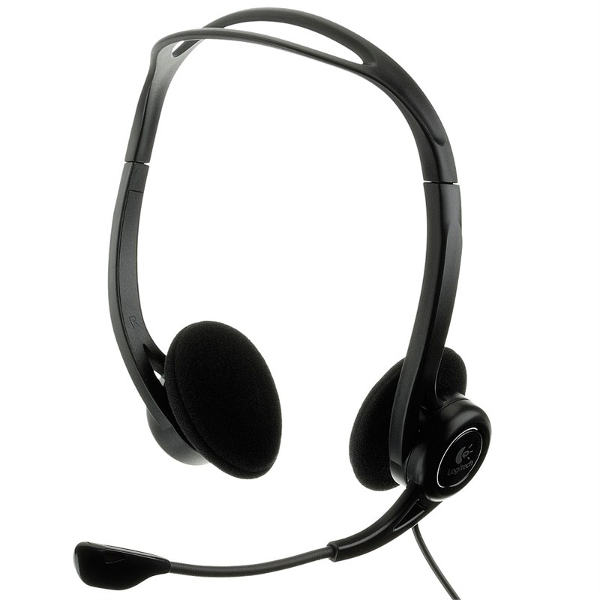 Logitech PC 960, USB, slušalice s mikrofonom, OEM