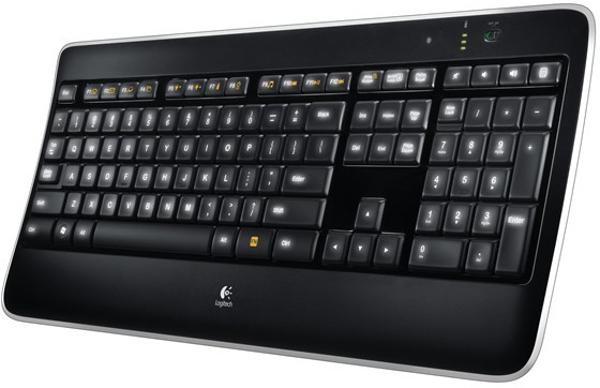 Logitech Wireless Illuminated K800, tipkovnica