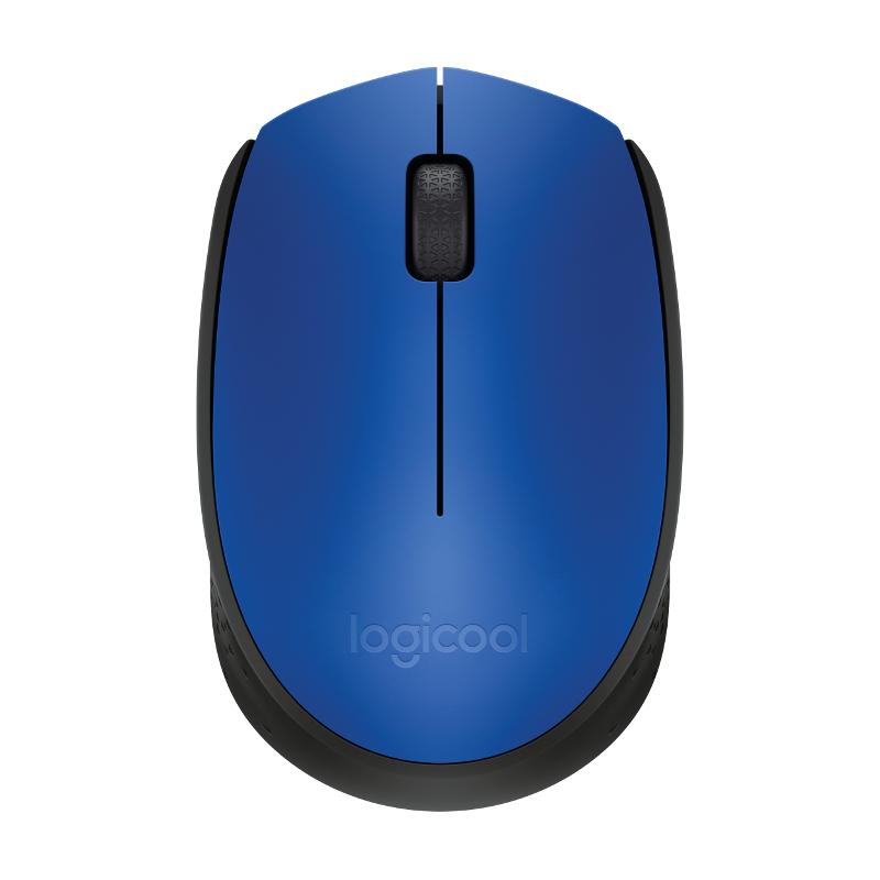 Logitech M171, bežični miš, plavi