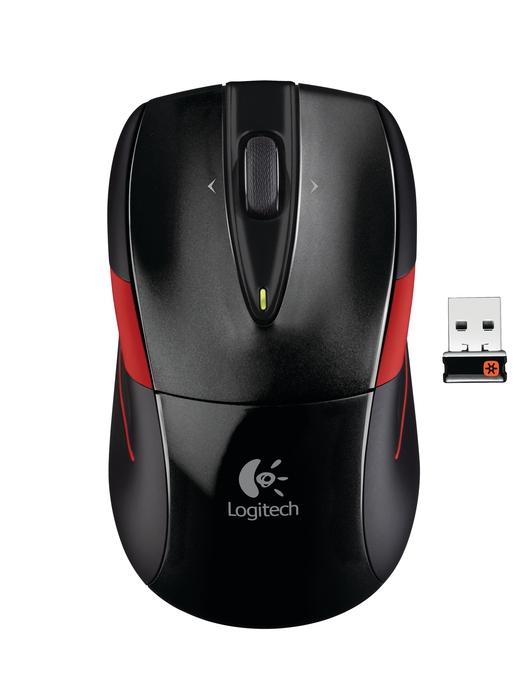 Logitech M525, bežični miš, crni