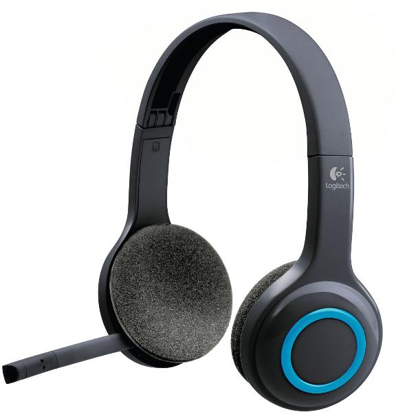 Logitech H600, USB, bežične slušalice s mikrofonom
