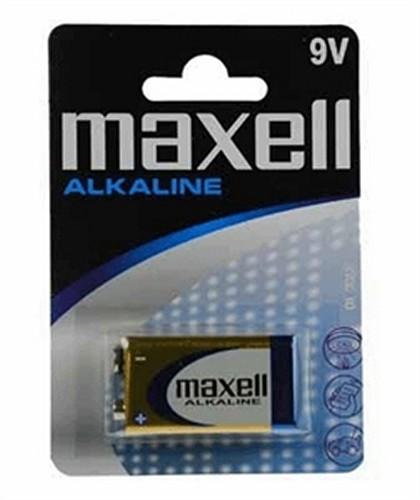 Maxell alkalna baterija 6LR61/9V Bloc, 1 komad