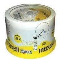 Maxell CD-R 52x, 700MB 50 kom spindle, printabilni