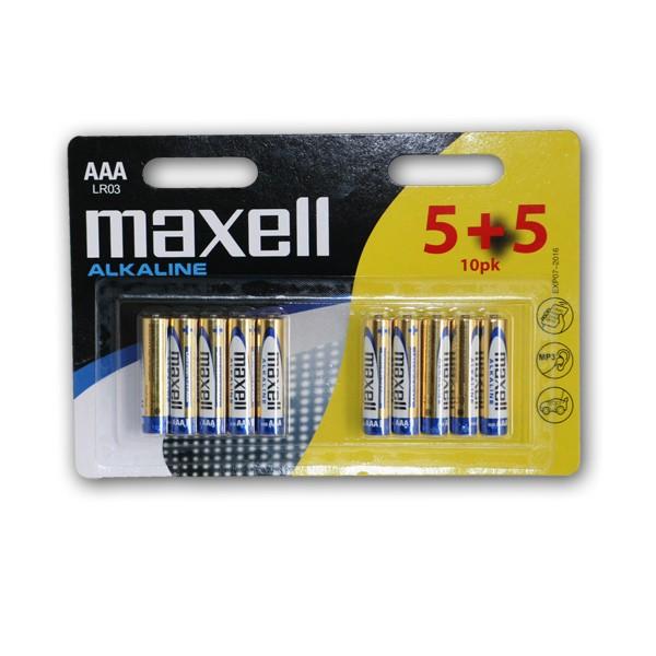 Maxell alk. baterija LR-3/AAA,10 kom