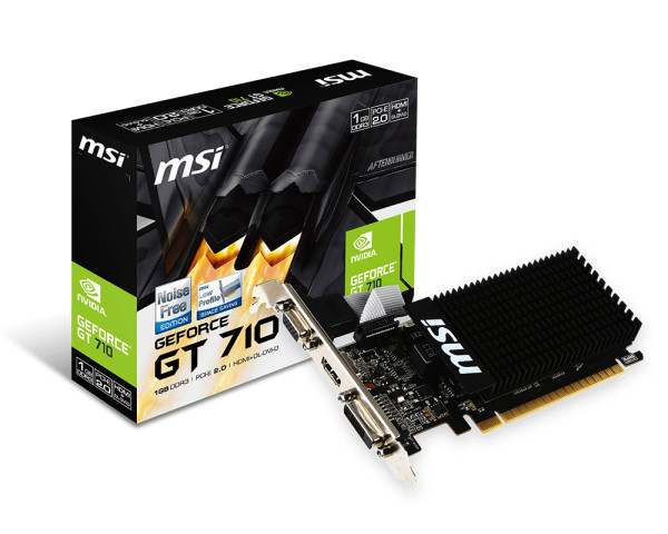 MSI GT710, 1GB DDR3, LP