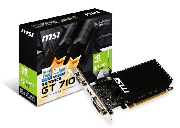 MSI GT710, 2GB DDR3, LP