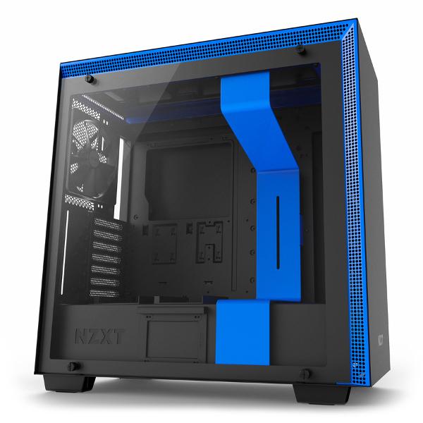 NZXT H700 crno/plavo, bez napajanja, ATX
